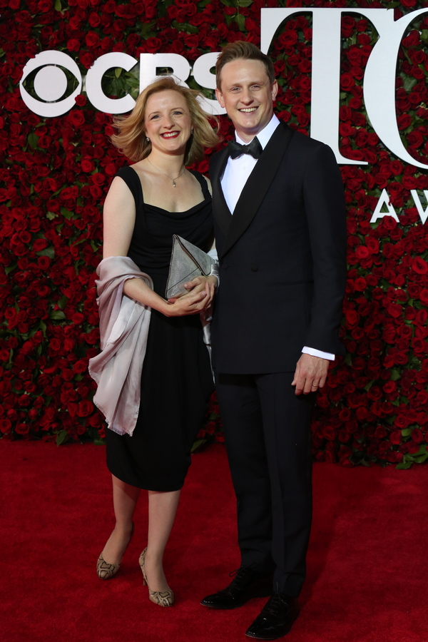 Richard Goulding and Sophie Roberts Photo