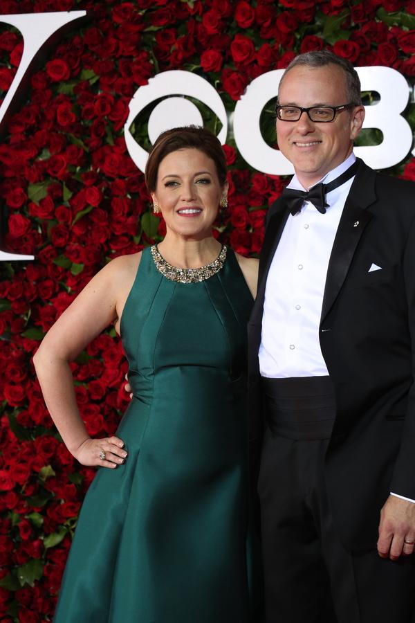 Jennifer Simard and Brad Robertson