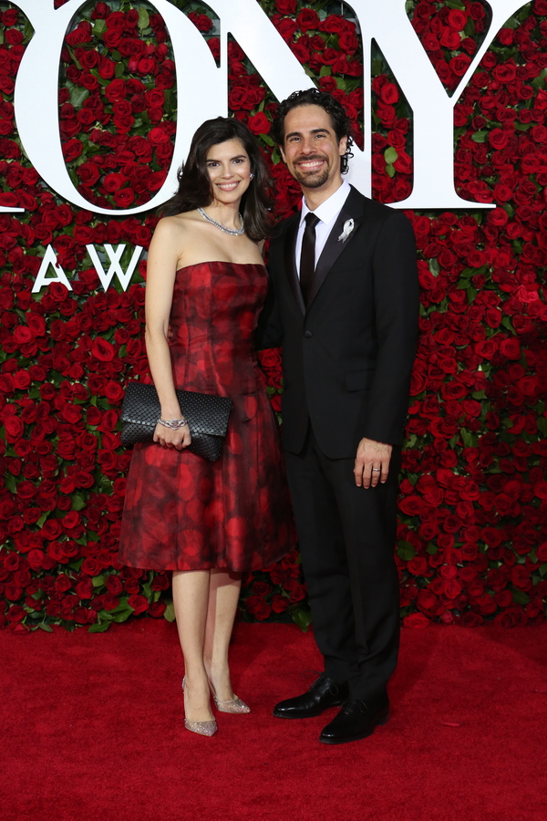 Alex Lacamoire and wife Ileana Ferreras