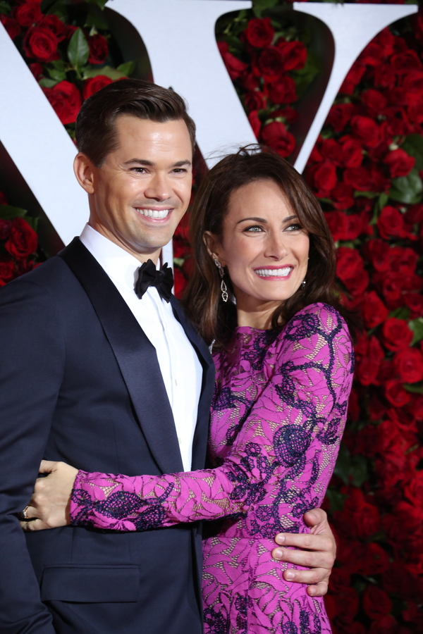 Andrew Rannells and Laura Benanti