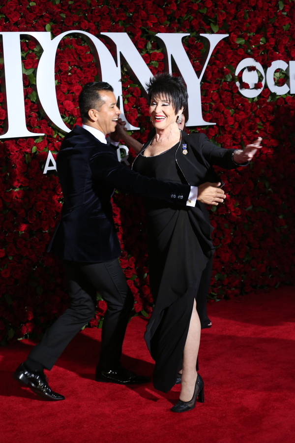 Chita Rivera and Sergio Trujillo