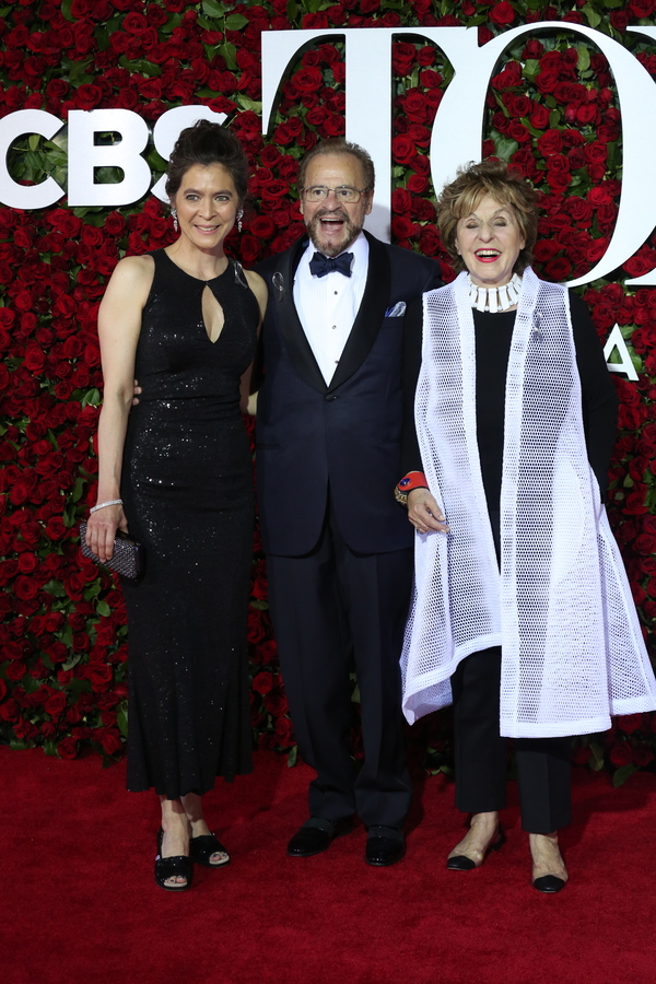 Diane Paulus, Barry Weissler and Fran Weissler Photo