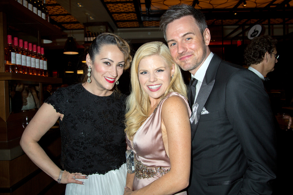 Eden Espinosa, Megan Hilty, Brian Gallagher