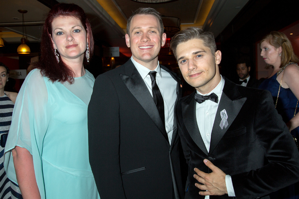 Kate Shindle, Michael Arden, Andy Mientus