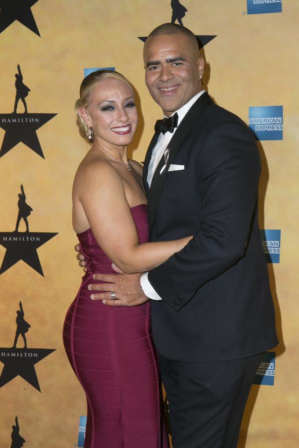 Chris Jackson with beautiful, Wife Veronica Jackson