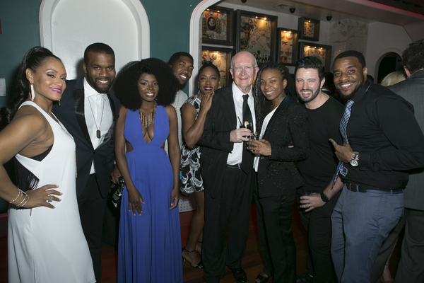 John Doyle and the cast of The Color Purple
