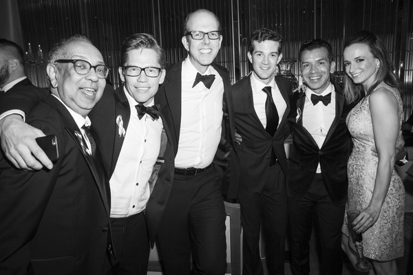 George C. Wolfe, Jack Noseworthy, Jeff Blumenkrantz, A.J. Shively, Sergio Trujillo and Emily Padgett