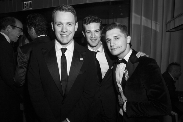Michael Arden, A.J. Shively and Andy Mientus
