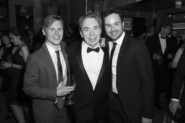 Seth Sikes and Andrew Lloyd Weber