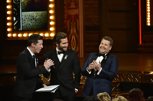 Sean Hayes, Jake Gyllenhaal, and James Corden