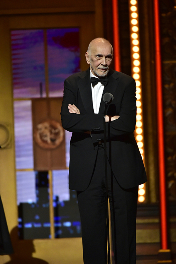 Frank Langella winner of Best Performance by an Actor in a Leading Role in a Play for The Father