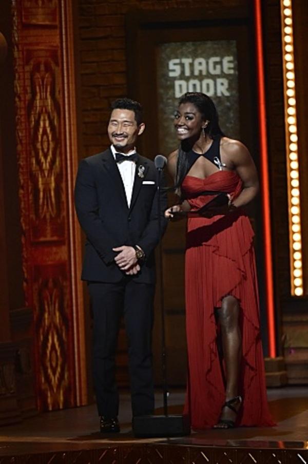 Daniel Dae Kim and Patina Miller
