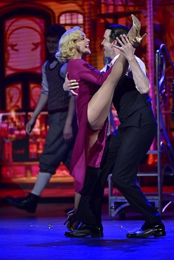 Jane Krakowski  and Gavin Creel