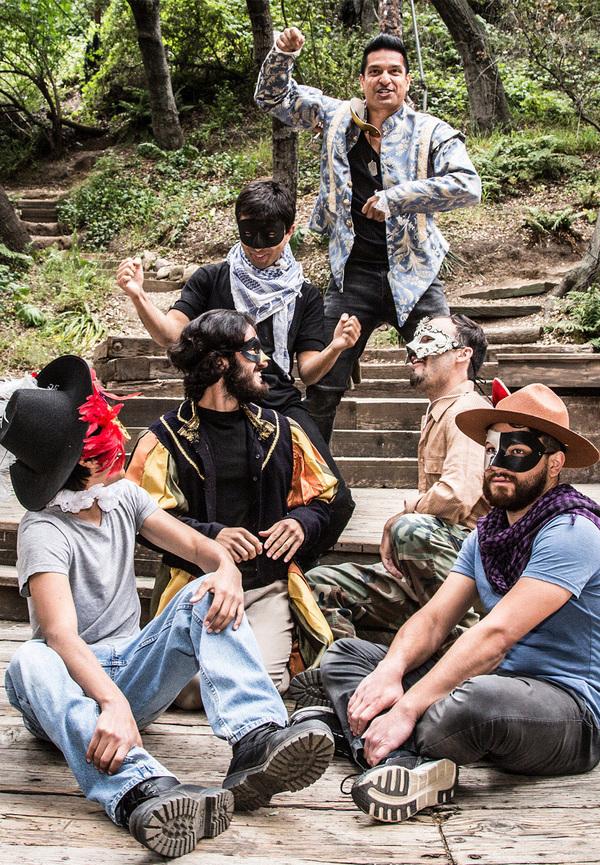 Rav Val Denegro, Kamran Abbassian,  Daniel Ramirez, Kelvin Morales,  Nima Jafari, Sha Photo