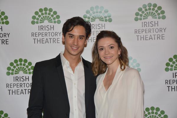 Michael Rosen and Megan Fairchild