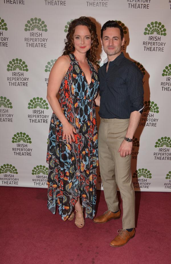 Melissa Errico and Max Von Essen