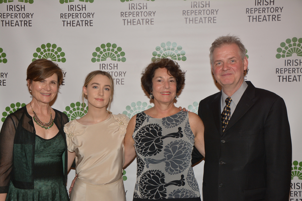 Kathleen Begala, Saoirse Ronan, Ellen McCourt and Ciaran O'Reilly