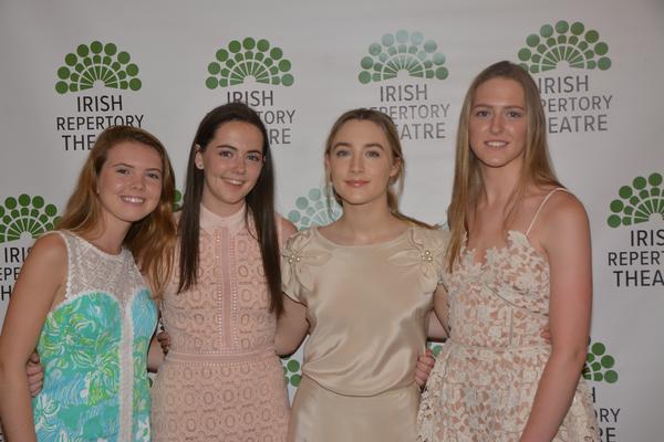 Claire McEntee, Jodie Gardiner, Saoirse Ronan and Sarah Gardiner