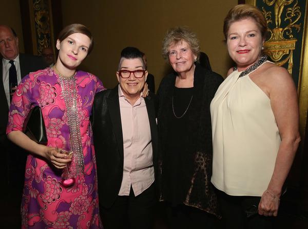 Chelsea Fairless, Lea DeLaria, Linda Hope, Kate Mulgrew