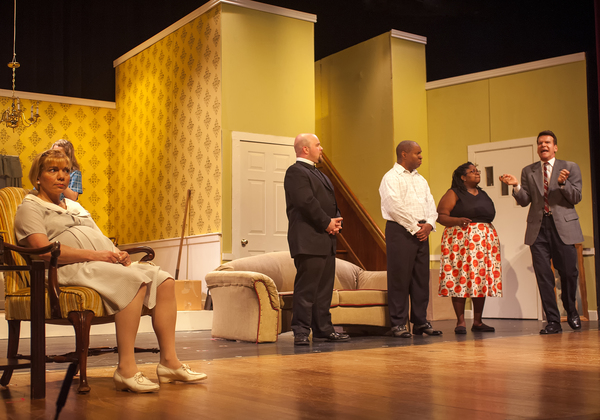 Rayah Martin as Betsy, Justin Mullis as Jim, Foster Evans Reese as Albert, Monique Sanders as Francine, and Michael Reilly as Karl