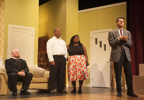 Justin Mullis as Jim, Foster Evans Reese as Albert, Monique Sanders as Francine, and Michael Reilly as Karl