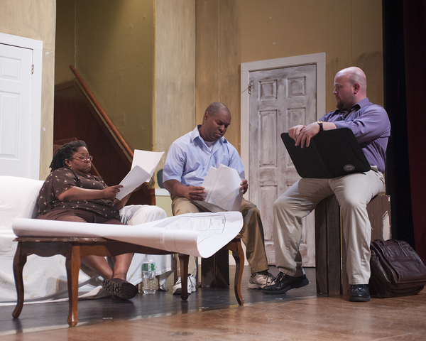 Photo Flash: First Look at Little Theatre of Manchester's CLYBOURNE PARK