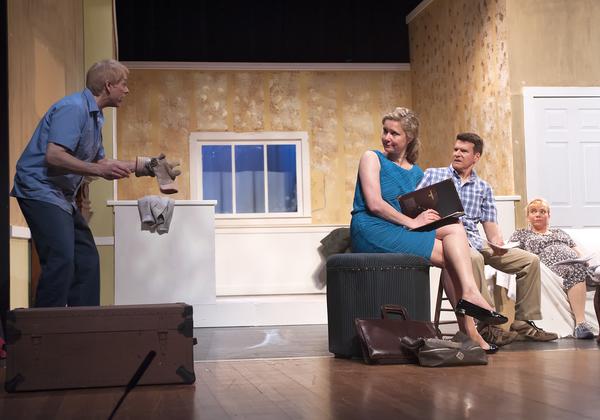 Robert Lunde as Dan, Tina Huey as Kathy, Michael Reilly as Steve, and Rayah Martin as Lindse