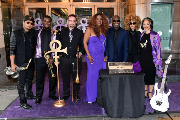 NEW YORK, NY - JUNE 13:  Members of New Power Generation, singer Meli'sa Morgan, saxo Photo