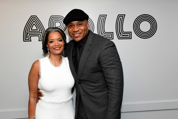 NEW YORK, NY - JUNE 13:  President and Chief Executive Officer of the Apollo Theater Jonelle Procope and LL Cool J attend Prince Walk of Fame Induction and 2016 Spring Gala at The Apollo Theater on June 13, 2016 in New York City.  (Photo by Shahar Azran/W