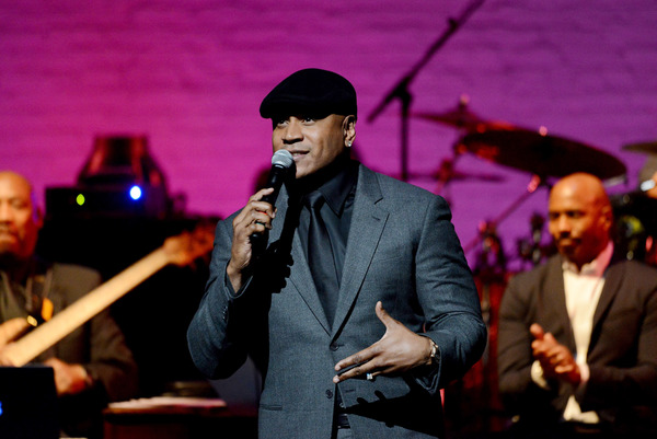 NEW YORK, NY - JUNE 13:  LL Cool J speaks on stage during Prince Walk of Fame Induction and 2016 Spring Gala at The Apollo Theater on June 13, 2016 in New York City.  (Photo by Shahar Azran/WireImage)