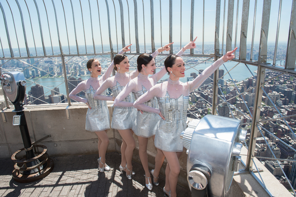 The Rockettes; Photo by Empire State Realty Trust