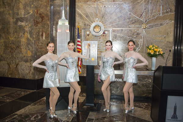 The Rockettes; Photo by Carl Scheffel/MSG Photos