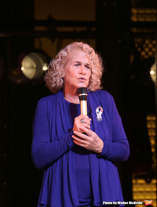 Photo Coverage: Carole King Helps BEAUTIFUL Celebrate 1000 Performances on Broadway!