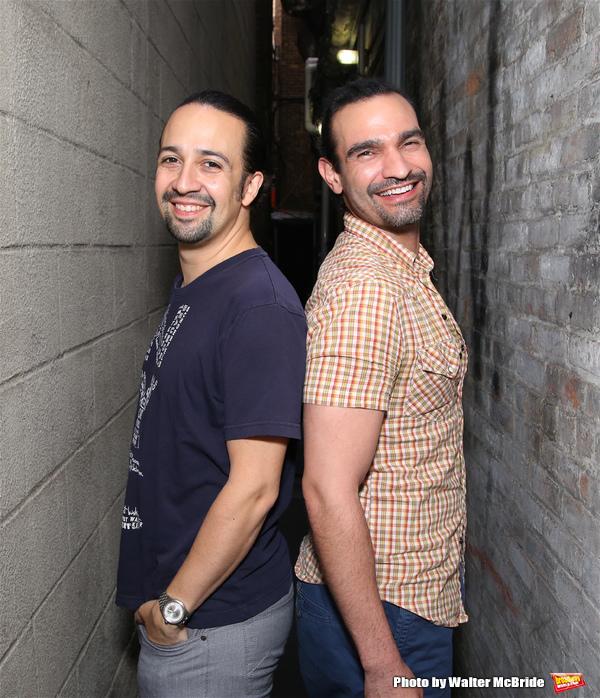 Lin-Manuel Miranda and  Javier Munoz