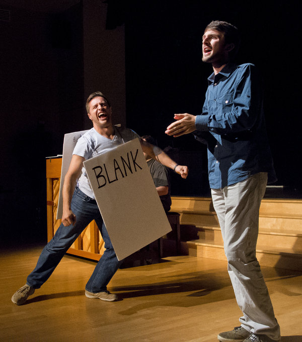 Scenes from Milburn Stone's Title of Show at Elkton Station (photo by Scott Serio)