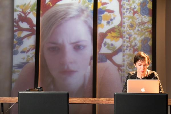 Jocelyn Kuritsky (foreground) and Lexi Lapp