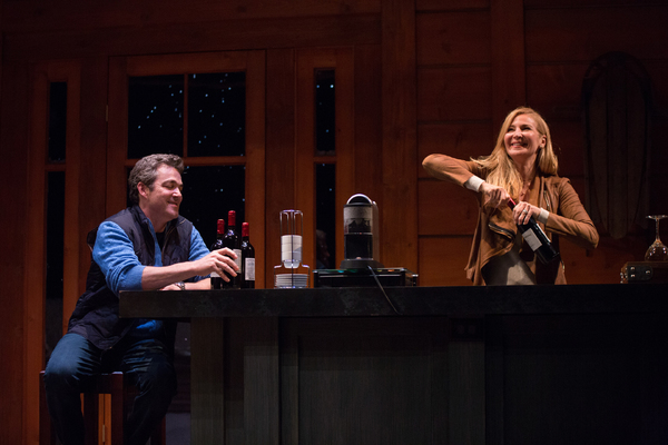 Jon Tenney and Jennifer Westfeldt.