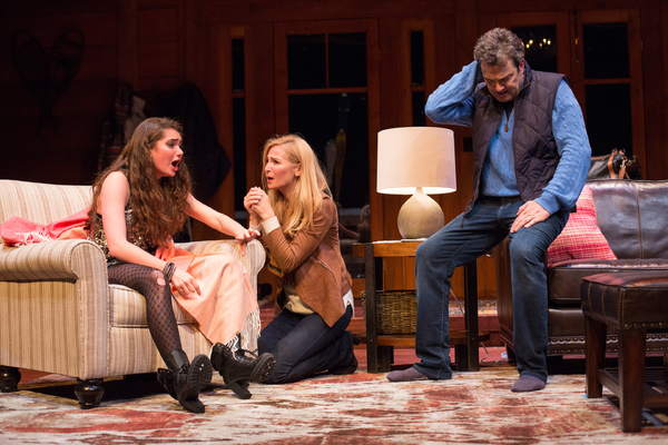 Emily Robinson, Jennifer Westfeldt and Jon Tenney.