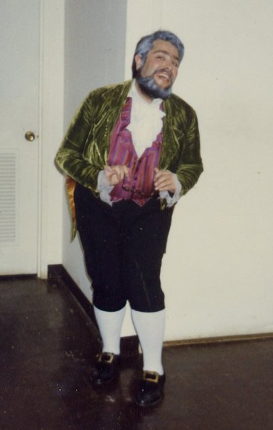 Michael T. Mooney as Fezziwig in A CHRISTMAS CAROL
