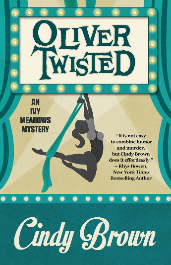 OLIVER TWISTED by Cindy Brown book cover