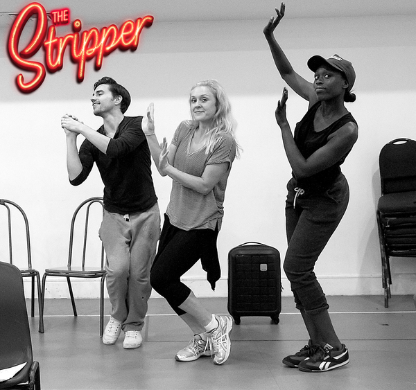 Photo Flash: In Rehearsal for THE STRIPPER at St. James Studio