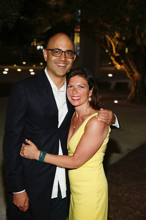 Playwright Ayad Akhtar and director Kimberly Senior