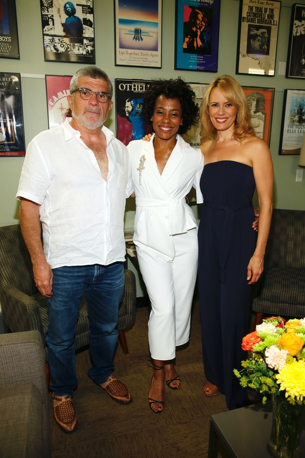 David Mamet and Karen Pittman and Emily Swallow
