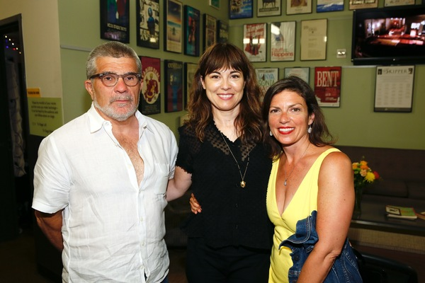 David Mamet, actress Rebecca Pidgeon and  Kimberly Senior