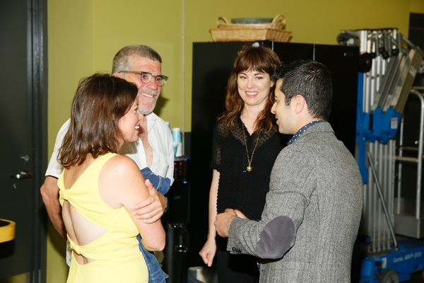 Kimberly Senior, David Mamet, actress Rebecca Pidgeon and Behzad Dabu