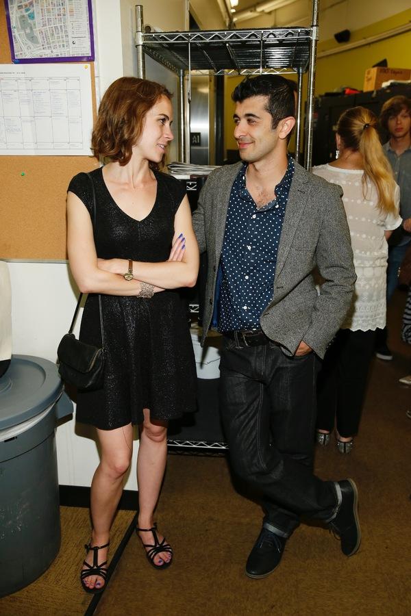 Emma Nicholls and Behzad Dabu