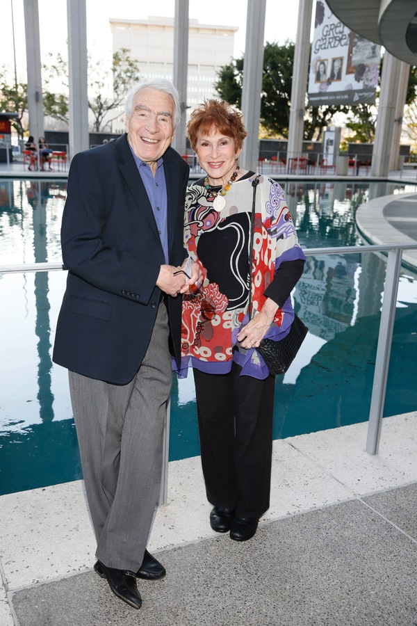CTG Founding Artistic Director Gordon Davidson and Judi Davidson