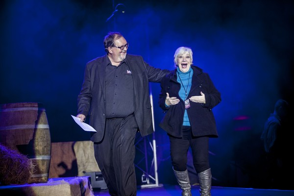 Frans Swart and Sally Vaughn