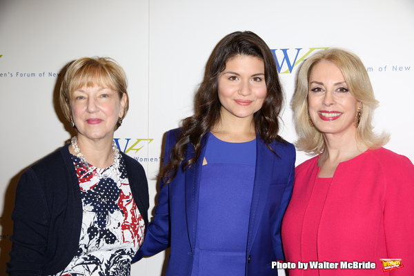 Linda Willett, Phillipa Soo, Carolyn Carter