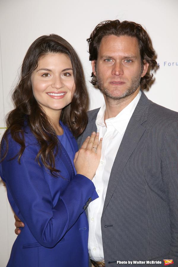 Phillipa Soo and Steven Pasquale